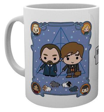 Les Crimes De Grindelwald - Chibi Norbert Et Dumbledore