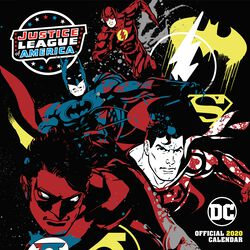DC Comics - Calendrier Mural 2020