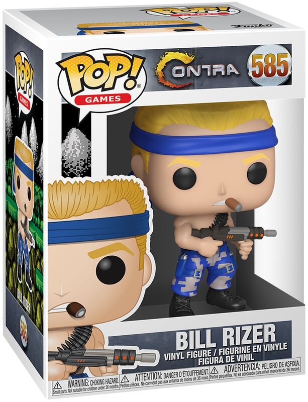 Bill Rizer - Funko Pop! n°585