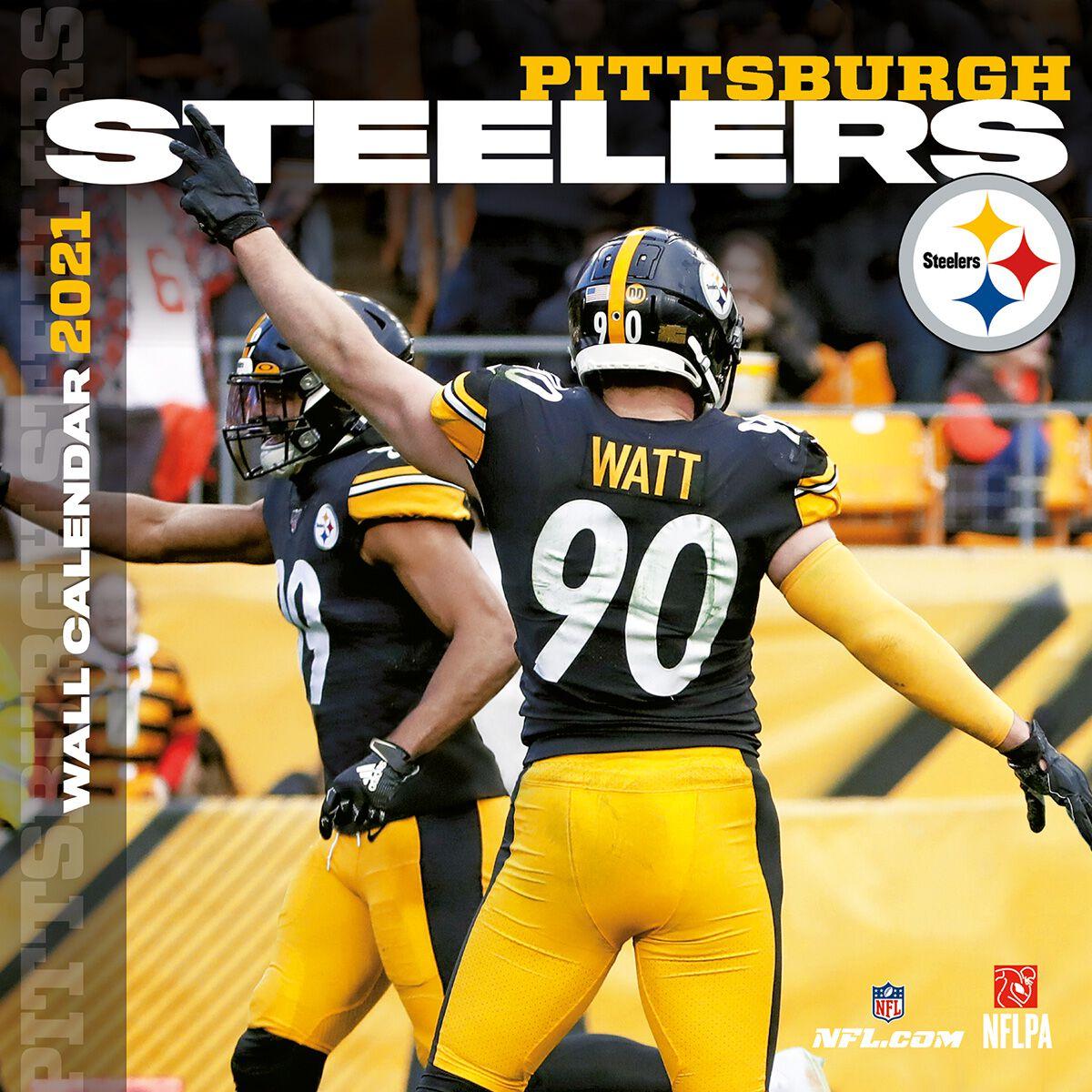 Pittsburgh Steelers   Calendrier 2021 | NFL Calendrier mural | EMP