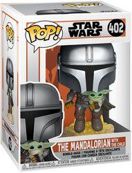 The Mandalorian - The Mandalorian Avec L'Enfant - Funko Pop! n°402