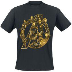 Infinity War - Logo A Noir