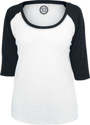 T-Shirt 3/4 Raglan Femme