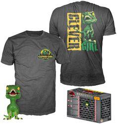 Clever Raptor (Translucide) - Pop! + T-Shirt