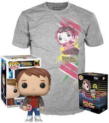 Marty Avec Overboard - T-Shirt + Funko - Pack Fan