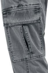 Pantalon De Jogging Cargo Délavé