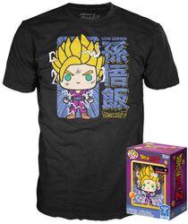 Dragon Ball Z - Super Saiyan Gohan (GITD) - Pop! & T-Shirt