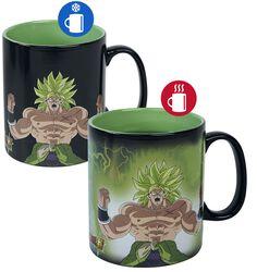 Super Broly - Gogeta & Broly - Mug Thermoréactif