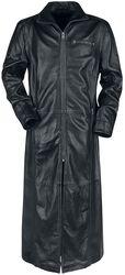 Manteau Cuir Noir