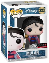 Figurine En Vinyle Mulan (Diamond Collection- Glitter) 223