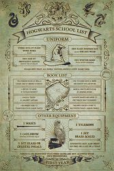 Liste De Fournitures Scolaires De Poudlard