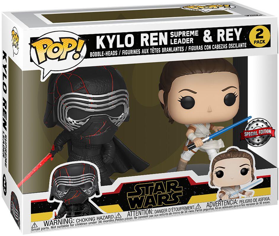 The Rise of Skywalker - Kylo Ren (Supreme Leader) & Rey Vinyl Figure 2-Pack
