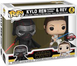L'Ascension De Skywalker - Kylo Ren (Supreme Leader) & Rey - Funko Pop! 2-Pack