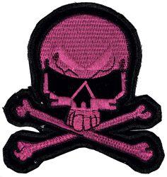 Petit Patch Crâne Rose