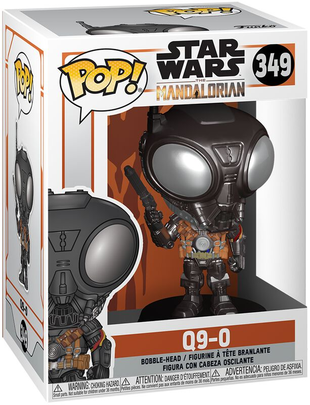 The Mandalorian - Q9-0 - Funko Pop! n°349