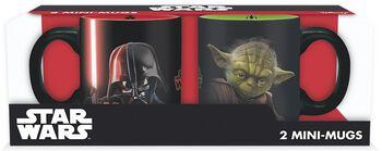 Vador Vs. Yoda - Lot De Tasses Expresso