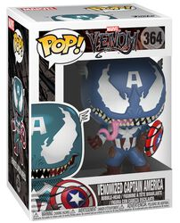 Captain America (Venomized) - Funko Pop! n° 364