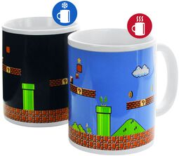 Super Mario - Heat-Change Mug