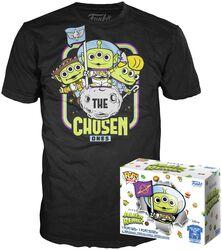 Alien En Buzz (GITD) - Pop! & T-Shirt