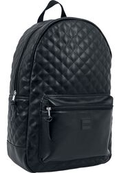Diamond Quilt Leather Imitation Backpack