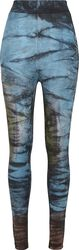 Leggings Taille Haute Coton Tie Dye