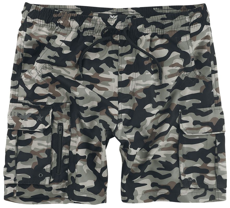 Short De Bain Camouflage Avec Poches