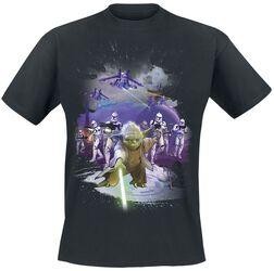 Poster Rétro Yoda