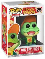 Figurine En Vinyle Dig em Frog (Ad Icons) 25