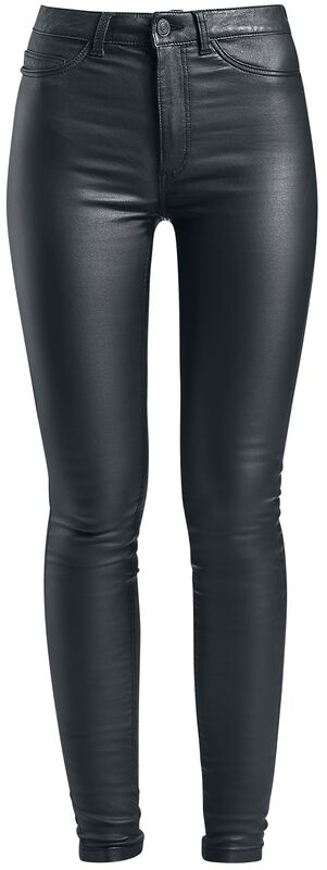 Pantalon Vernis Skinny Taille Haute Callie