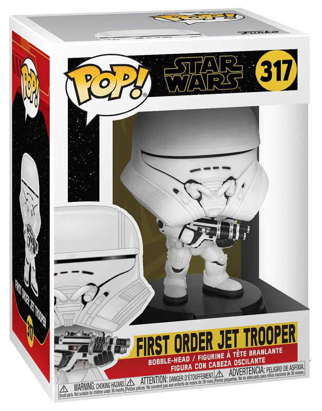 Épisode 9 - L'Ascension de Skywalker - First Order Jet Trooper - Funko Pop! n° 317