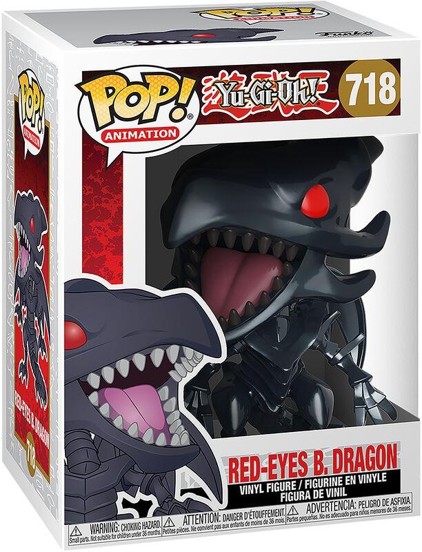 Dragon Noir Aux Yeux Rouges - Funko Pop! n°718
