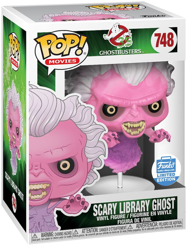 Scary Library Ghost (Funko Shop Europe) - Funko Pop! n°748