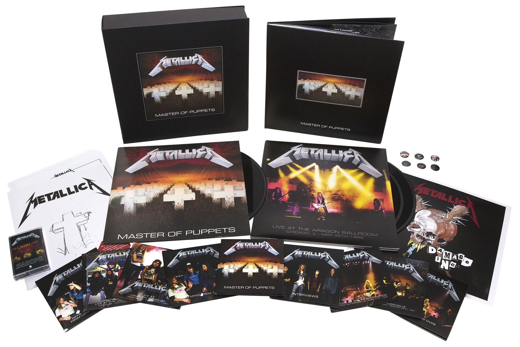 master of puppets metallica cd emp. Black Bedroom Furniture Sets. Home Design Ideas