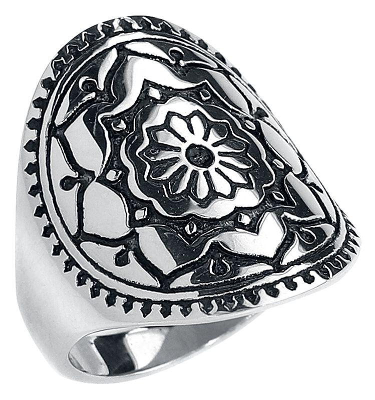 Bague Silver Mandala Flower