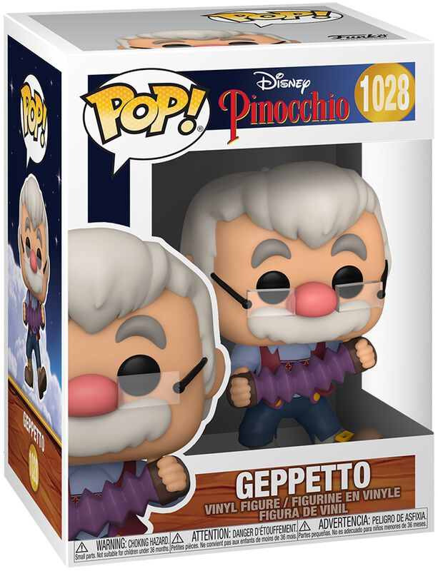 80ème Anniversaire - Gepetto - Funko Pop! n°1028