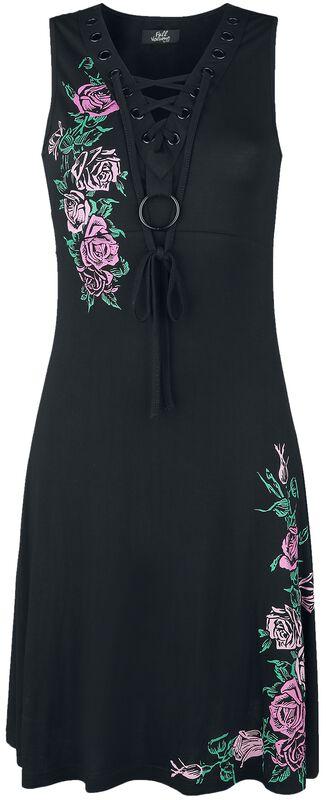 Robe Imprimé Floral & Laçage