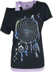 T-Shirt Imprimé Attrape-Rêves