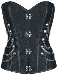 Corset Brocard Punk/Gothique
