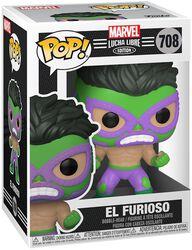 El Furioso - Marvel Luchadores - Funko Pop! n°708