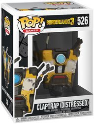 Borderlands 3 - Claptrap (Distressed) - Funko Pop! n°526