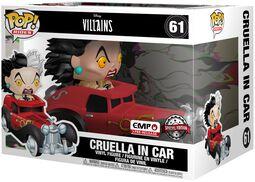 Cruella Dans Sa Voiture - Funko Pop! Rides n°61
