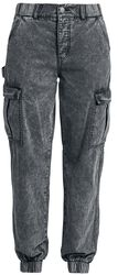 Pantalon Cargo Délavé