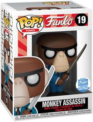 Spastik Plastik - Monkey Assassin (Funko Shop Europe) - Funko Pop! n°19