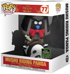ECCC 2020 - Mushu Sur Panda (Pop! Rides) - Funko Pop! n°77