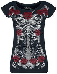 T-Shirt Imprimé Squelette