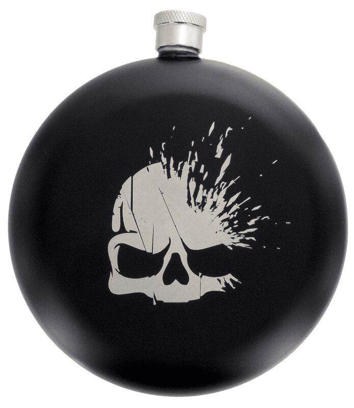 Logo Crâne - Flasque