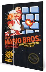 Super Mario - Pochette NES