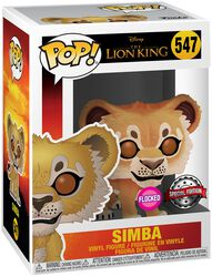 Simba (Flocked) - Funko Pop! n°547