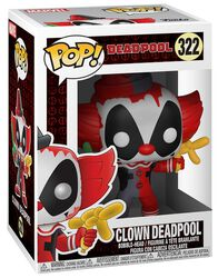 Figurine en vinyle Deadpool (Clown) 322