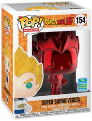 SDCC 2019 - Vegeta Super Saiyan (Red Chrome) - Funko Pop! n°154